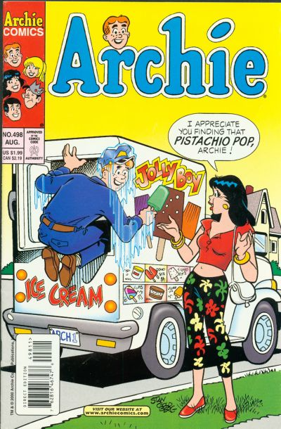 Cover for Archie (Archie, 1959 series) #498
