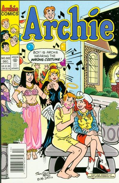 Cover for Archie (Archie, 1959 series) #502