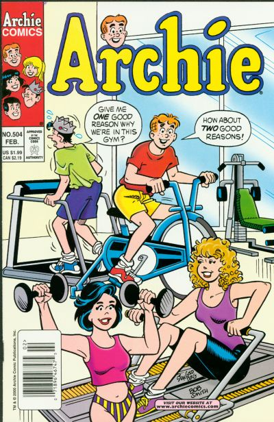 Cover for Archie (Archie, 1959 series) #504