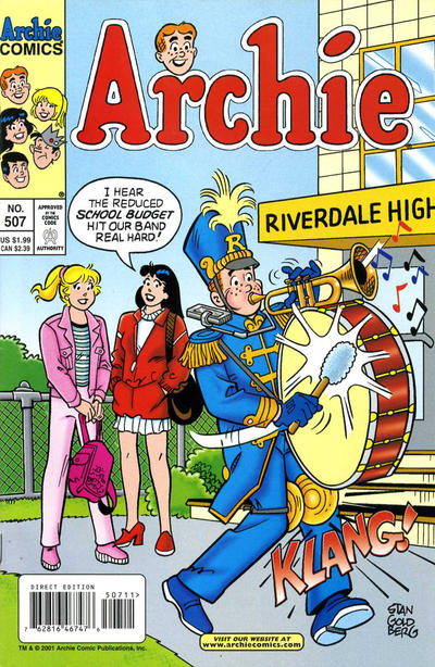 Cover for Archie (Archie, 1959 series) #507
