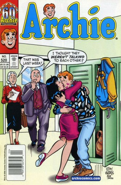 Cover for Archie (Archie, 1959 series) #520