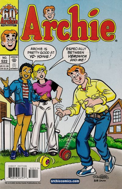 Cover for Archie (Archie, 1959 series) #522