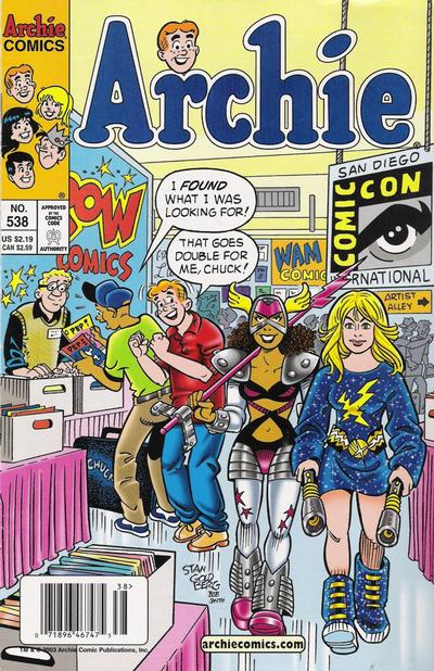 Cover for Archie (Archie, 1959 series) #538