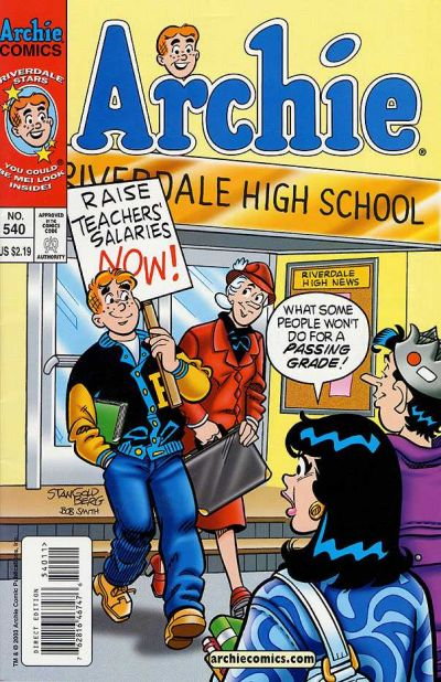 Cover for Archie (Archie, 1959 series) #540