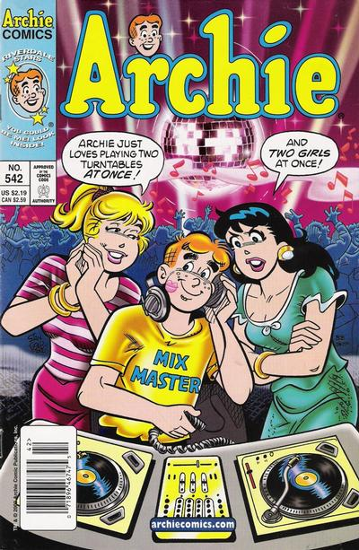 Cover for Archie (Archie, 1959 series) #542