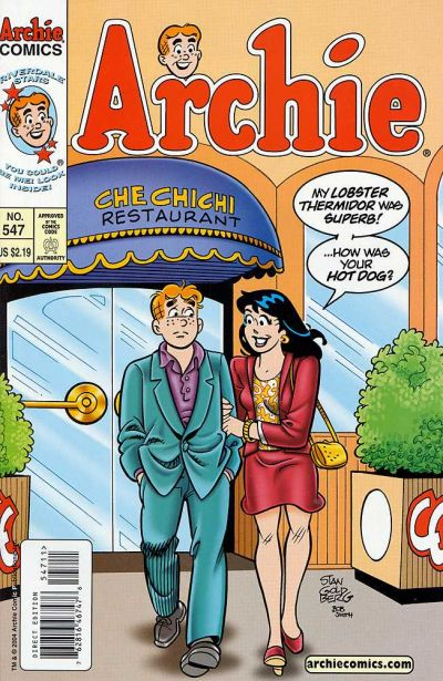 Cover for Archie (Archie, 1959 series) #547