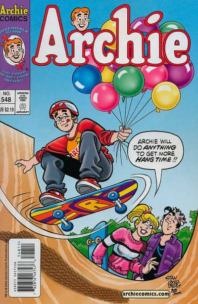 Cover for Archie (Archie, 1959 series) #548
