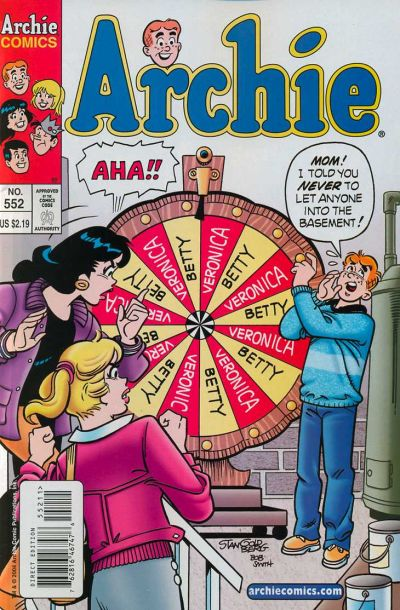 Cover for Archie (Archie, 1959 series) #552