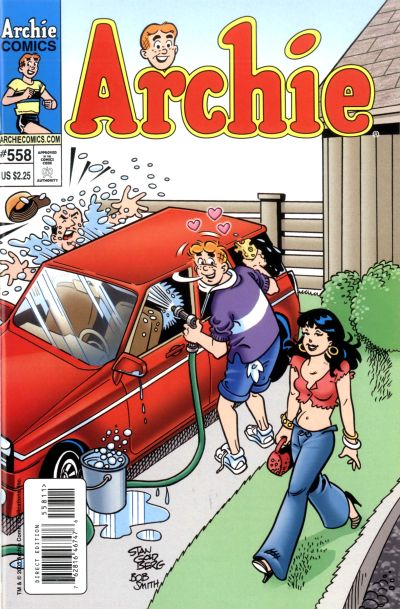 Cover for Archie (Archie, 1959 series) #558