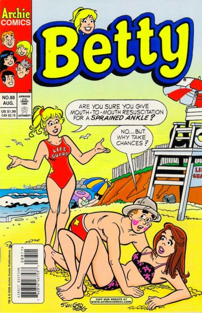 Cover for Betty (Archie, 1992 series) #88