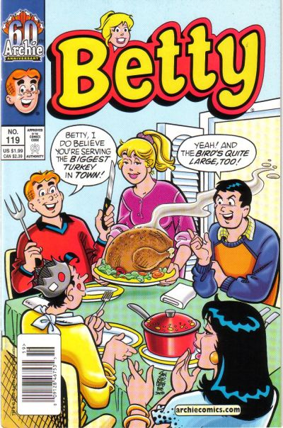 Cover for Betty (Archie, 1992 series) #119 [Newsstand]