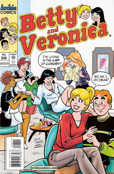 Cover for Betty and Veronica (Archie, 1987 series) #206