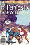 Cover Thumbnail for Fantastic Four (1961 series) #255 [Newsstand Edition]