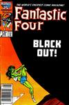 Cover Thumbnail for Fantastic Four (1961 series) #293 [Newsstand Edition]