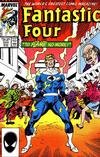 Cover for Fantastic Four (Marvel, 1961 series) #302 [Direct Edition]
