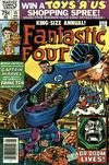 Cover for Fantastic Four Annual (Marvel, 1963 series) #15 [Newsstand]