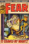 Cover for Fear (Marvel, 1970 series) #8