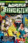 Cover for Frankenstein (Marvel, 1973 series) #1