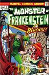 Cover for Frankenstein (Marvel, 1973 series) #3
