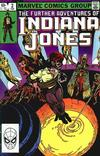 Cover for The Further Adventures of Indiana Jones (Marvel, 1983 series) #2 [Direct]