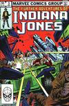 Cover for The Further Adventures of Indiana Jones (Marvel, 1983 series) #3 [Direct]