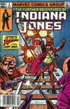 Cover for The Further Adventures of Indiana Jones (Marvel, 1983 series) #4 [Newsstand]