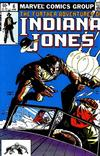 Cover for The Further Adventures of Indiana Jones (Marvel, 1983 series) #6 [Direct]