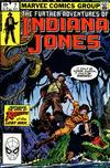 Cover for The Further Adventures of Indiana Jones (Marvel, 1983 series) #7 [Direct]