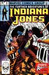 Cover for The Further Adventures of Indiana Jones (Marvel, 1983 series) #8 [Direct]