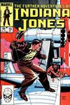 Cover for The Further Adventures of Indiana Jones (Marvel, 1983 series) #10 [Direct]