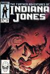 Cover for The Further Adventures of Indiana Jones (Marvel, 1983 series) #14 [Direct]
