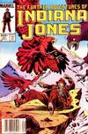 Cover Thumbnail for The Further Adventures of Indiana Jones (1983 series) #21 [Newsstand]