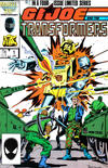 Cover for G.I. Joe and the Transformers (Marvel, 1986 series) #1 [Direct Edition]