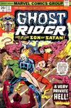 Cover for Ghost Rider (Marvel, 1973 series) #17