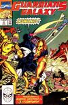 Cover for Guardians of the Galaxy (Marvel, 1990 series) #3 [Direct]