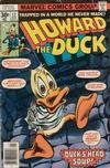 Cover for Howard the Duck (Marvel, 1976 series) #12 [Regular Edition]
