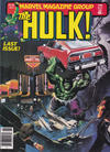 Cover for Hulk (Marvel, 1978 series) #27
