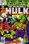 Cover Thumbnail for The Incredible Hulk Annual (1976 series) #9 [Newsstand]