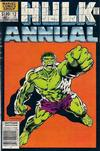 Cover Thumbnail for The Incredible Hulk Annual (1976 series) #12 [Newsstand]
