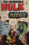 Cover Thumbnail for The Incredible Hulk (1962 series) #2 [Regular Edition]