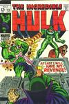 Cover for The Incredible Hulk (Marvel, 1968 series) #114 [Regular Edition]