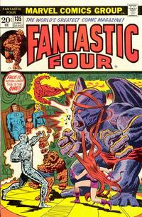 Cover Thumbnail for Fantastic Four (Marvel, 1961 series) #135 [Regular Edition]