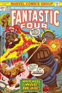 Cover Thumbnail for Fantastic Four (Marvel, 1961 series) #137 [Regular Edition]