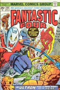 Cover Thumbnail for Fantastic Four (Marvel, 1961 series) #150 [Regular Edition]