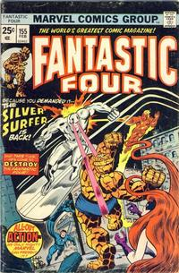 Cover Thumbnail for Fantastic Four (Marvel, 1961 series) #155 [Regular Edition]