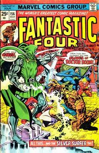 Cover Thumbnail for Fantastic Four (Marvel, 1961 series) #156 [Regular Edition]