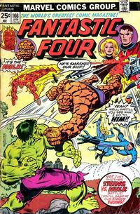 Cover Thumbnail for Fantastic Four (Marvel, 1961 series) #166 [Regular Edition]