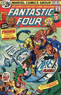 Cover Thumbnail for Fantastic Four (Marvel, 1961 series) #170 [25¢]