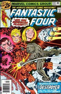 Cover for Fantastic Four (Marvel, 1961 series) #172 [Regular Edition]