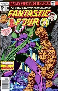 Cover Thumbnail for Fantastic Four (Marvel, 1961 series) #194 [Regular Edition]